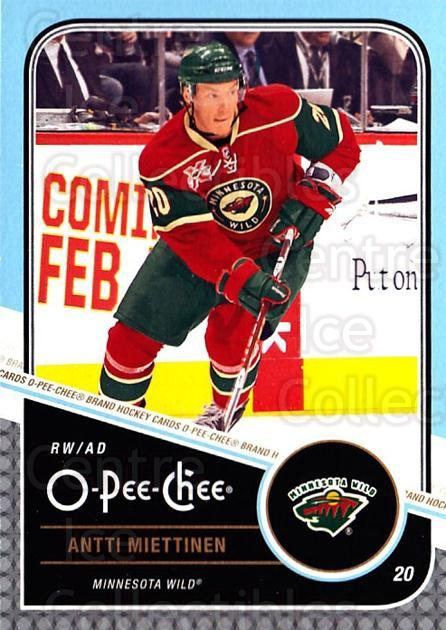 2011-12 O-Pee-Chee #216 Antti Miettinen<br/>1 In Stock - $1.00 each - <a href=https://centericecollectibles.foxycart.com/cart?name=2011-12%20O-Pee-Chee%20%23216%20Antti%20Miettinen...&quantity_max=1&price=$1.00&code=611816 class=foxycart> Buy it now! </a>