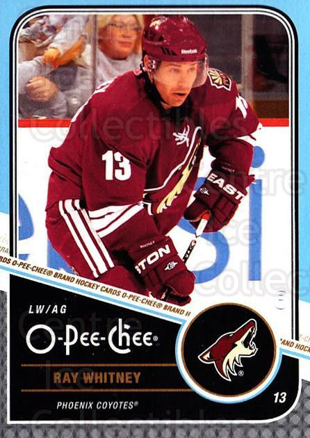2011-12 O-Pee-Chee #230 Ray Whitney<br/>1 In Stock - $1.00 each - <a href=https://centericecollectibles.foxycart.com/cart?name=2011-12%20O-Pee-Chee%20%23230%20Ray%20Whitney...&quantity_max=1&price=$1.00&code=611830 class=foxycart> Buy it now! </a>