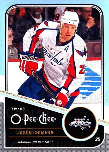 2011-12 O-Pee-Chee #253 Jason Chimera<br/>1 In Stock - $1.00 each - <a href=https://centericecollectibles.foxycart.com/cart?name=2011-12%20O-Pee-Chee%20%23253%20Jason%20Chimera...&quantity_max=1&price=$1.00&code=611853 class=foxycart> Buy it now! </a>