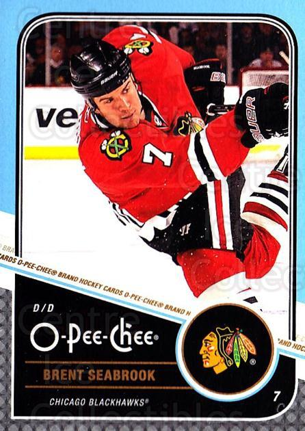 2011-12 O-Pee-Chee #320 Brent Seabrook<br/>1 In Stock - $1.00 each - <a href=https://centericecollectibles.foxycart.com/cart?name=2011-12%20O-Pee-Chee%20%23320%20Brent%20Seabrook...&quantity_max=1&price=$1.00&code=611920 class=foxycart> Buy it now! </a>
