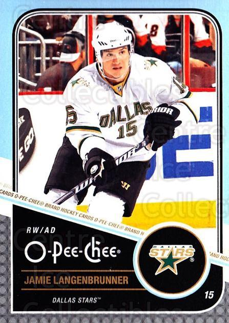 2011-12 O-Pee-Chee #347 Jamie Langenbrunner<br/>1 In Stock - $1.00 each - <a href=https://centericecollectibles.foxycart.com/cart?name=2011-12%20O-Pee-Chee%20%23347%20Jamie%20Langenbru...&quantity_max=1&price=$1.00&code=611947 class=foxycart> Buy it now! </a>