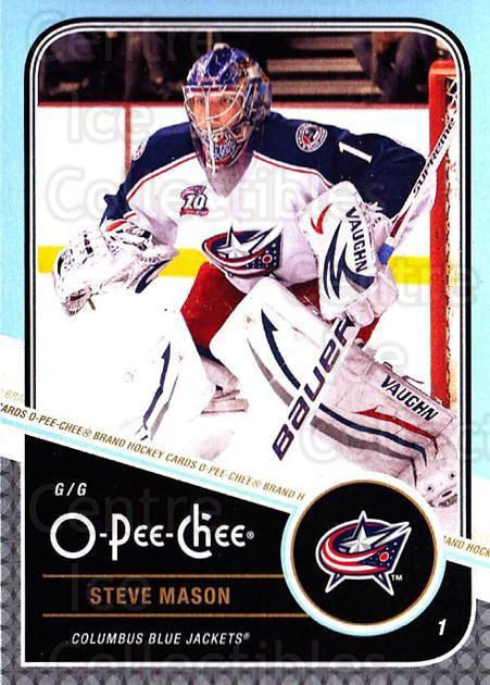 2011-12 O-Pee-Chee #357 Steve Mason<br/>1 In Stock - $1.00 each - <a href=https://centericecollectibles.foxycart.com/cart?name=2011-12%20O-Pee-Chee%20%23357%20Steve%20Mason...&quantity_max=1&price=$1.00&code=611957 class=foxycart> Buy it now! </a>