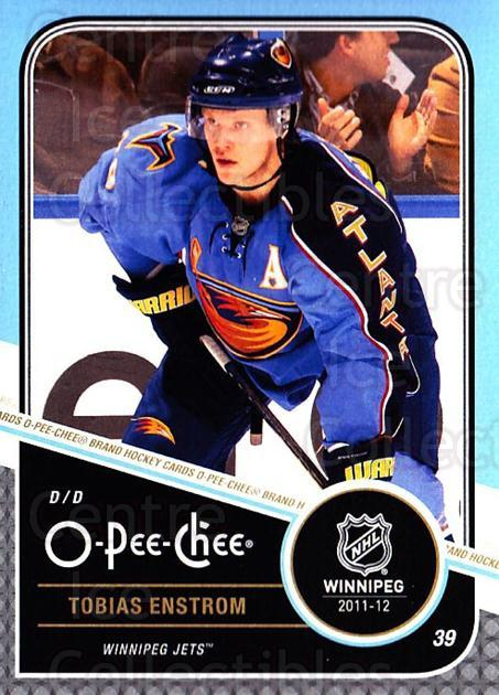 2011-12 O-Pee-Chee #379 Tobias Enstrom<br/>1 In Stock - $1.00 each - <a href=https://centericecollectibles.foxycart.com/cart?name=2011-12%20O-Pee-Chee%20%23379%20Tobias%20Enstrom...&quantity_max=1&price=$1.00&code=611979 class=foxycart> Buy it now! </a>