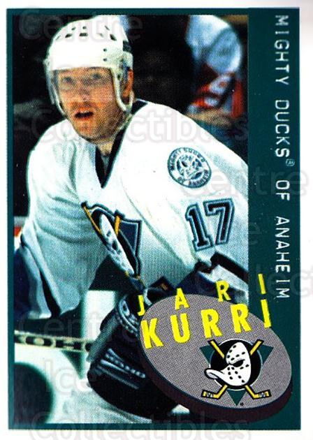 1997-98 Panini Stickers #189 Jari Kurri<br/>3 In Stock - $1.00 each - <a href=https://centericecollectibles.foxycart.com/cart?name=1997-98%20Panini%20Stickers%20%23189%20Jari%20Kurri...&quantity_max=3&price=$1.00&code=61199 class=foxycart> Buy it now! </a>