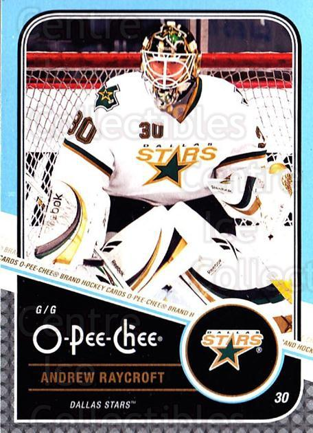 2011-12 O-Pee-Chee #430 Andrew Raycroft<br/>1 In Stock - $1.00 each - <a href=https://centericecollectibles.foxycart.com/cart?name=2011-12%20O-Pee-Chee%20%23430%20Andrew%20Raycroft...&quantity_max=1&price=$1.00&code=612030 class=foxycart> Buy it now! </a>