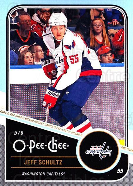 2011-12 O-Pee-Chee #463 Jeff Schultz<br/>1 In Stock - $1.00 each - <a href=https://centericecollectibles.foxycart.com/cart?name=2011-12%20O-Pee-Chee%20%23463%20Jeff%20Schultz...&quantity_max=1&price=$1.00&code=612063 class=foxycart> Buy it now! </a>
