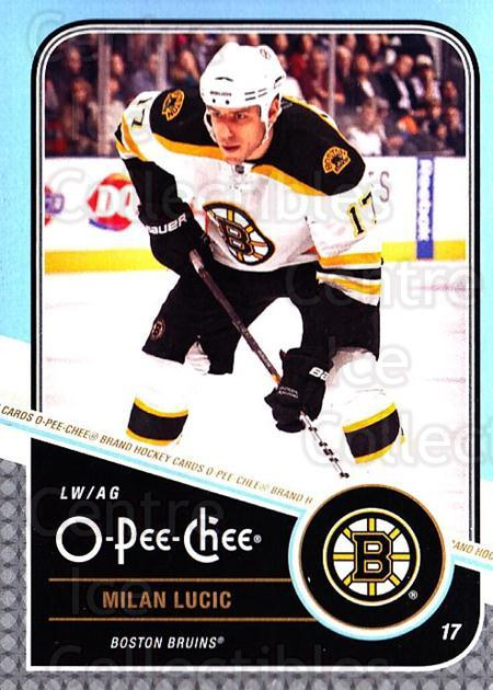 2011-12 O-Pee-Chee #473 Milan Lucic<br/>1 In Stock - $1.00 each - <a href=https://centericecollectibles.foxycart.com/cart?name=2011-12%20O-Pee-Chee%20%23473%20Milan%20Lucic...&quantity_max=1&price=$1.00&code=612073 class=foxycart> Buy it now! </a>