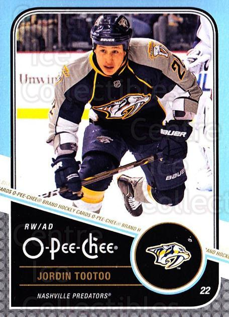 2011-12 O-Pee-Chee #489 Jordin Tootoo<br/>1 In Stock - $1.00 each - <a href=https://centericecollectibles.foxycart.com/cart?name=2011-12%20O-Pee-Chee%20%23489%20Jordin%20Tootoo...&quantity_max=1&price=$1.00&code=612089 class=foxycart> Buy it now! </a>