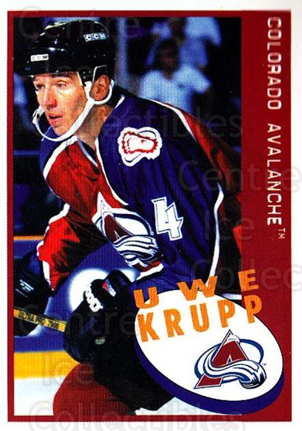 1997-98 Panini Stickers #200 Uwe Krupp<br/>4 In Stock - $1.00 each - <a href=https://centericecollectibles.foxycart.com/cart?name=1997-98%20Panini%20Stickers%20%23200%20Uwe%20Krupp...&quantity_max=4&price=$1.00&code=61212 class=foxycart> Buy it now! </a>
