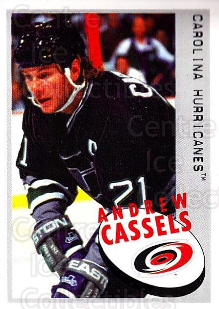 1997-98 Panini Stickers #21 Andrew Cassels<br/>4 In Stock - $1.00 each - <a href=https://centericecollectibles.foxycart.com/cart?name=1997-98%20Panini%20Stickers%20%2321%20Andrew%20Cassels...&quantity_max=4&price=$1.00&code=61218 class=foxycart> Buy it now! </a>