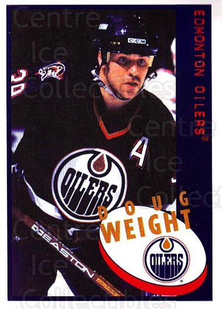 1997-98 Panini Stickers #215 Doug Weight<br/>3 In Stock - $1.00 each - <a href=https://centericecollectibles.foxycart.com/cart?name=1997-98%20Panini%20Stickers%20%23215%20Doug%20Weight...&quantity_max=3&price=$1.00&code=61224 class=foxycart> Buy it now! </a>