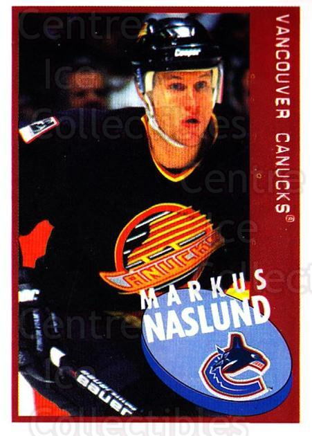 1997-98 Panini Stickers #239 Markus Naslund<br/>4 In Stock - $1.00 each - <a href=https://centericecollectibles.foxycart.com/cart?name=1997-98%20Panini%20Stickers%20%23239%20Markus%20Naslund...&quantity_max=4&price=$1.00&code=61249 class=foxycart> Buy it now! </a>