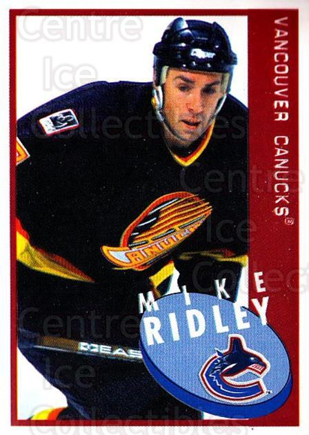 1997-98 Panini Stickers #243 Mike Ridley<br/>6 In Stock - $1.00 each - <a href=https://centericecollectibles.foxycart.com/cart?name=1997-98%20Panini%20Stickers%20%23243%20Mike%20Ridley...&quantity_max=6&price=$1.00&code=61254 class=foxycart> Buy it now! </a>