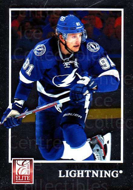 2011-12 Elite #9 Steven Stamkos<br/>1 In Stock - $1.00 each - <a href=https://centericecollectibles.foxycart.com/cart?name=2011-12%20Elite%20%239%20Steven%20Stamkos...&price=$1.00&code=612900 class=foxycart> Buy it now! </a>