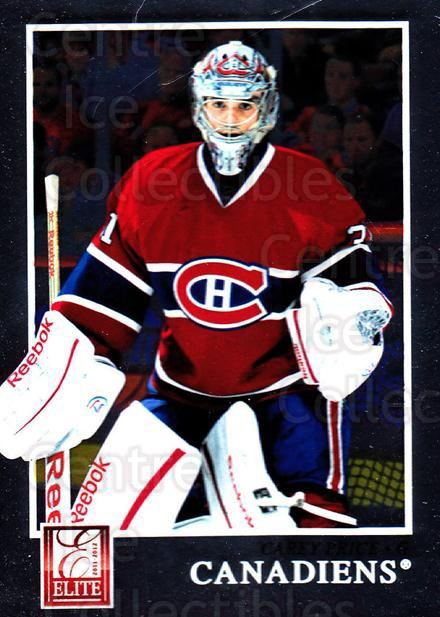 2011-12 Elite #51 Carey Price<br/>2 In Stock - $3.00 each - <a href=https://centericecollectibles.foxycart.com/cart?name=2011-12%20Elite%20%2351%20Carey%20Price...&quantity_max=2&price=$3.00&code=612942 class=foxycart> Buy it now! </a>