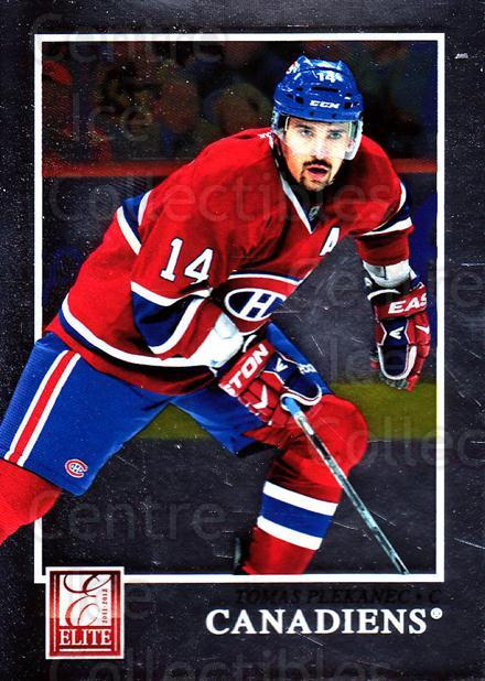 2011-12 Elite #89 Tomas Plekanec<br/>4 In Stock - $1.00 each - <a href=https://centericecollectibles.foxycart.com/cart?name=2011-12%20Elite%20%2389%20Tomas%20Plekanec...&quantity_max=4&price=$1.00&code=612980 class=foxycart> Buy it now! </a>