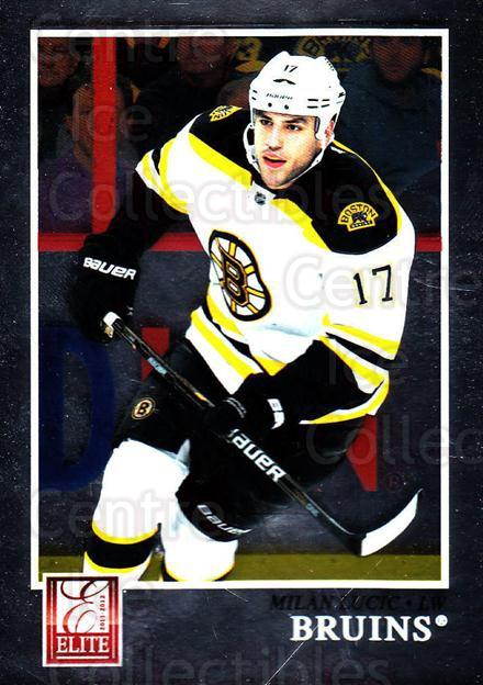2011-12 Elite #96 Milan Lucic<br/>4 In Stock - $1.00 each - <a href=https://centericecollectibles.foxycart.com/cart?name=2011-12%20Elite%20%2396%20Milan%20Lucic...&quantity_max=4&price=$1.00&code=612987 class=foxycart> Buy it now! </a>