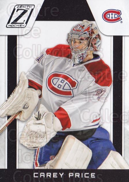 2010-11 Zenith #8 Carey Price<br/>1 In Stock - $3.00 each - <a href=https://centericecollectibles.foxycart.com/cart?name=2010-11%20Zenith%20%238%20Carey%20Price...&quantity_max=1&price=$3.00&code=613641 class=foxycart> Buy it now! </a>
