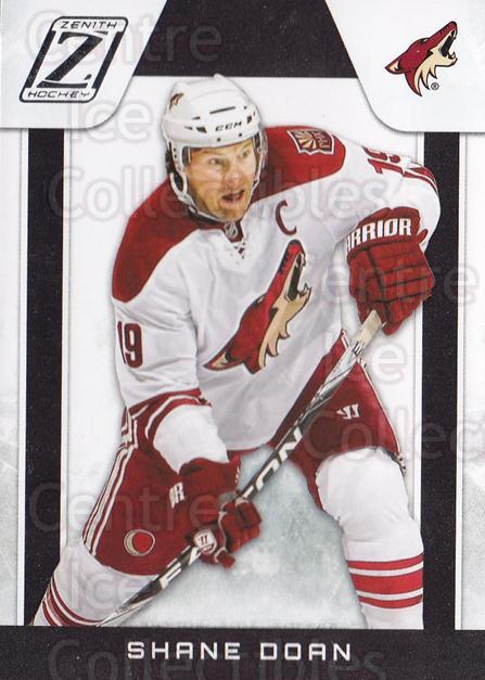 2010-11 Zenith #22 Shane Doan<br/>2 In Stock - $1.00 each - <a href=https://centericecollectibles.foxycart.com/cart?name=2010-11%20Zenith%20%2322%20Shane%20Doan...&quantity_max=2&price=$1.00&code=613655 class=foxycart> Buy it now! </a>