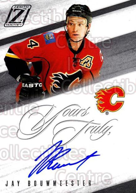 2010-11 Zenith Yours Truly Auto #BW Jay Bouwmeester<br/>1 In Stock - $5.00 each - <a href=https://centericecollectibles.foxycart.com/cart?name=2010-11%20Zenith%20Yours%20Truly%20Auto%20%23BW%20Jay%20Bouwmeester...&quantity_max=1&price=$5.00&code=613985 class=foxycart> Buy it now! </a>