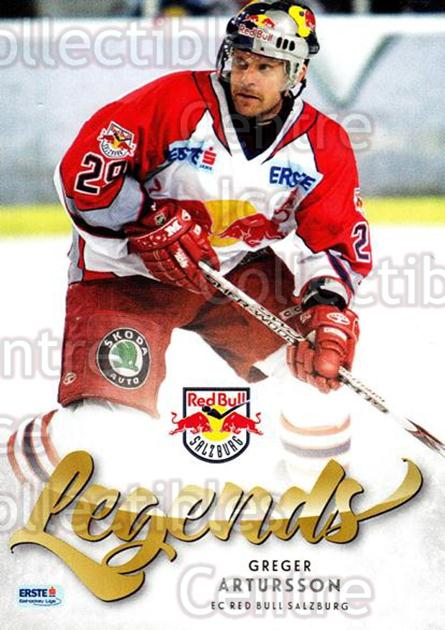 2013-14 Erste Bank Eishockey Liga EBEL Legends #6 Greger Artursson<br/>1 In Stock - $3.00 each - <a href=https://centericecollectibles.foxycart.com/cart?name=2013-14%20Erste%20Bank%20Eishockey%20Liga%20EBEL%20Legends%20%236%20Greger%20Artursso...&quantity_max=1&price=$3.00&code=614161 class=foxycart> Buy it now! </a>