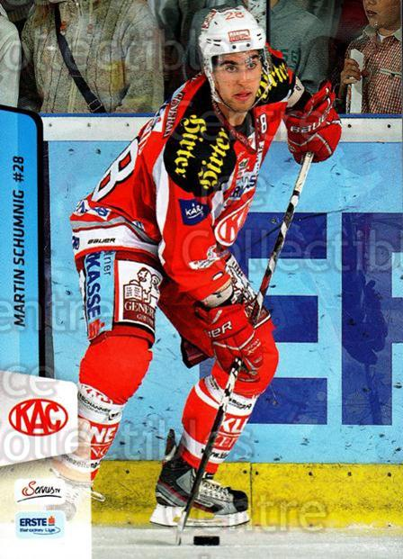 2013-14 Erste Bank Eishockey Liga EBEL #225 Martin Schumnig<br/>5 In Stock - $2.00 each - <a href=https://centericecollectibles.foxycart.com/cart?name=2013-14%20Erste%20Bank%20Eishockey%20Liga%20EBEL%20%23225%20Martin%20Schumnig...&quantity_max=5&price=$2.00&code=614170 class=foxycart> Buy it now! </a>