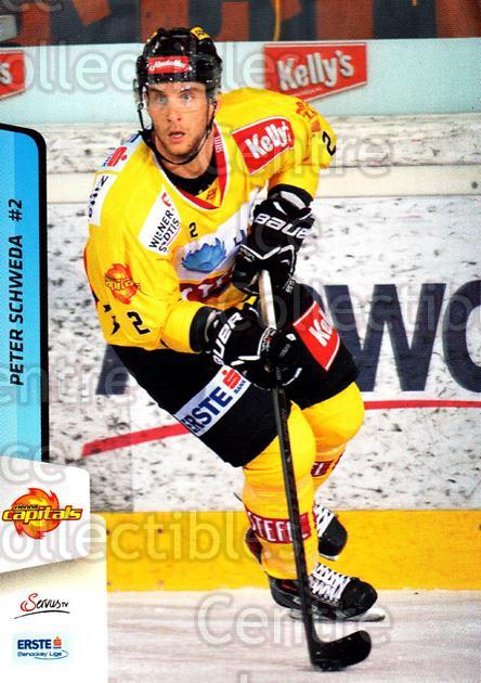 2013-14 Erste Bank Eishockey Liga EBEL #231 Peter Schweda<br/>5 In Stock - $2.00 each - <a href=https://centericecollectibles.foxycart.com/cart?name=2013-14%20Erste%20Bank%20Eishockey%20Liga%20EBEL%20%23231%20Peter%20Schweda...&quantity_max=5&price=$2.00&code=614176 class=foxycart> Buy it now! </a>