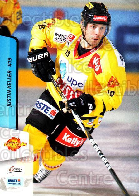 2013-14 Erste Bank Eishockey Liga EBEL #234 Justin Keller<br/>5 In Stock - $2.00 each - <a href=https://centericecollectibles.foxycart.com/cart?name=2013-14%20Erste%20Bank%20Eishockey%20Liga%20EBEL%20%23234%20Justin%20Keller...&quantity_max=5&price=$2.00&code=614179 class=foxycart> Buy it now! </a>