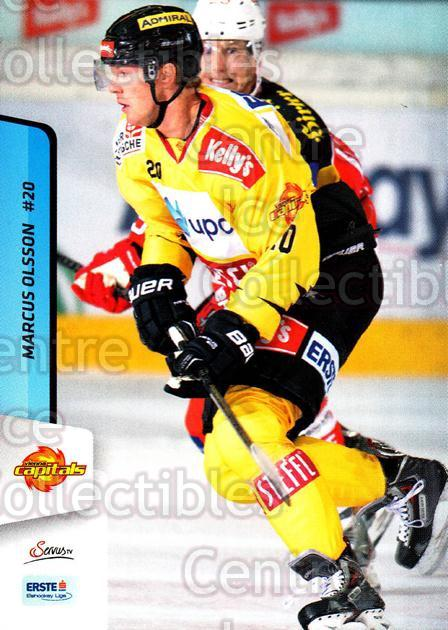 2013-14 Erste Bank Eishockey Liga EBEL #235 Marcus Olsson<br/>5 In Stock - $2.00 each - <a href=https://centericecollectibles.foxycart.com/cart?name=2013-14%20Erste%20Bank%20Eishockey%20Liga%20EBEL%20%23235%20Marcus%20Olsson...&quantity_max=5&price=$2.00&code=614180 class=foxycart> Buy it now! </a>