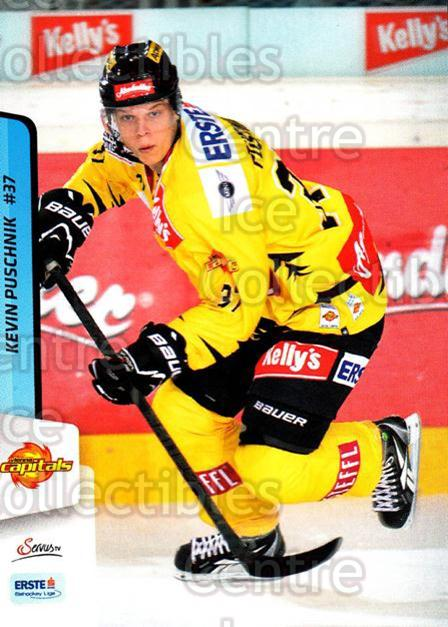 2013-14 Erste Bank Eishockey Liga EBEL #236 Kevin Puschnik<br/>4 In Stock - $2.00 each - <a href=https://centericecollectibles.foxycart.com/cart?name=2013-14%20Erste%20Bank%20Eishockey%20Liga%20EBEL%20%23236%20Kevin%20Puschnik...&quantity_max=4&price=$2.00&code=614181 class=foxycart> Buy it now! </a>