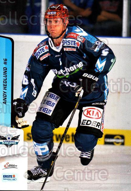 2013-14 Erste Bank Eishockey Liga EBEL #237 Andy Hedlund<br/>3 In Stock - $2.00 each - <a href=https://centericecollectibles.foxycart.com/cart?name=2013-14%20Erste%20Bank%20Eishockey%20Liga%20EBEL%20%23237%20Andy%20Hedlund...&quantity_max=3&price=$2.00&code=614182 class=foxycart> Buy it now! </a>