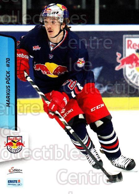 2013-14 Erste Bank Eishockey Liga EBEL #245 Markus Pock<br/>5 In Stock - $2.00 each - <a href=https://centericecollectibles.foxycart.com/cart?name=2013-14%20Erste%20Bank%20Eishockey%20Liga%20EBEL%20%23245%20Markus%20Pock...&quantity_max=5&price=$2.00&code=614190 class=foxycart> Buy it now! </a>