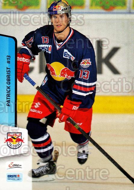 2013-14 Erste Bank Eishockey Liga EBEL #246 Patrick Obrist<br/>2 In Stock - $2.00 each - <a href=https://centericecollectibles.foxycart.com/cart?name=2013-14%20Erste%20Bank%20Eishockey%20Liga%20EBEL%20%23246%20Patrick%20Obrist...&quantity_max=2&price=$2.00&code=614191 class=foxycart> Buy it now! </a>