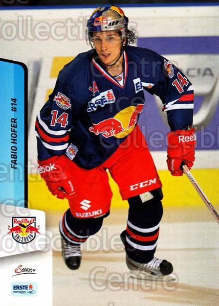 2013-14 Erste Bank Eishockey Liga EBEL #247 Fabio Hofer<br/>5 In Stock - $2.00 each - <a href=https://centericecollectibles.foxycart.com/cart?name=2013-14%20Erste%20Bank%20Eishockey%20Liga%20EBEL%20%23247%20Fabio%20Hofer...&quantity_max=5&price=$2.00&code=614192 class=foxycart> Buy it now! </a>