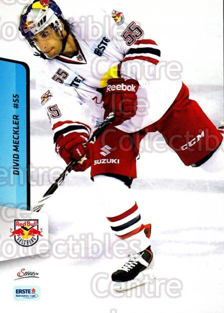 2013-14 Erste Bank Eishockey Liga EBEL #249 David Meckler<br/>2 In Stock - $2.00 each - <a href=https://centericecollectibles.foxycart.com/cart?name=2013-14%20Erste%20Bank%20Eishockey%20Liga%20EBEL%20%23249%20David%20Meckler...&quantity_max=2&price=$2.00&code=614194 class=foxycart> Buy it now! </a>