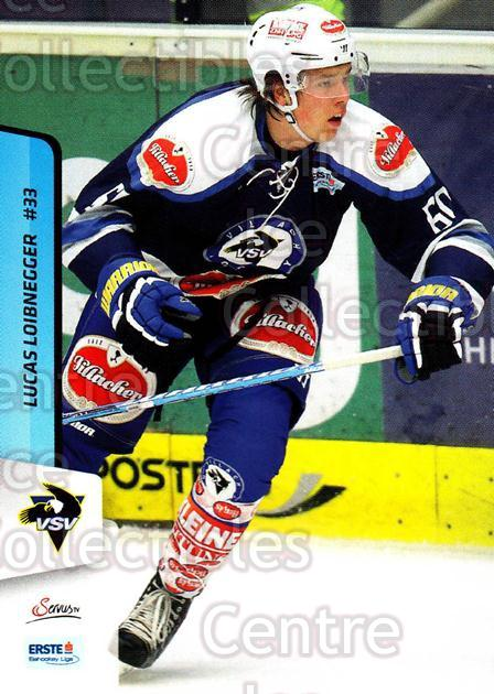 2013-14 Erste Bank Eishockey Liga EBEL #251 Lucas Loibnegger<br/>5 In Stock - $2.00 each - <a href=https://centericecollectibles.foxycart.com/cart?name=2013-14%20Erste%20Bank%20Eishockey%20Liga%20EBEL%20%23251%20Lucas%20Loibnegge...&quantity_max=5&price=$2.00&code=614196 class=foxycart> Buy it now! </a>