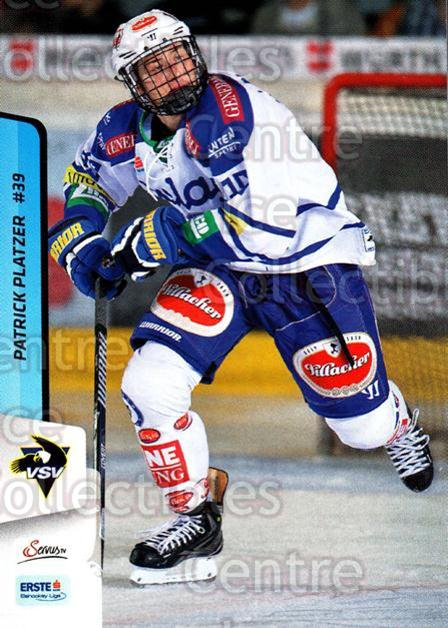 2013-14 Erste Bank Eishockey Liga EBEL #254 Patrick Platzer<br/>5 In Stock - $2.00 each - <a href=https://centericecollectibles.foxycart.com/cart?name=2013-14%20Erste%20Bank%20Eishockey%20Liga%20EBEL%20%23254%20Patrick%20Platzer...&quantity_max=5&price=$2.00&code=614199 class=foxycart> Buy it now! </a>