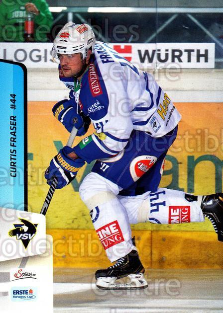 2013-14 Erste Bank Eishockey Liga EBEL #255 Curtis Fraser<br/>5 In Stock - $2.00 each - <a href=https://centericecollectibles.foxycart.com/cart?name=2013-14%20Erste%20Bank%20Eishockey%20Liga%20EBEL%20%23255%20Curtis%20Fraser...&quantity_max=5&price=$2.00&code=614200 class=foxycart> Buy it now! </a>