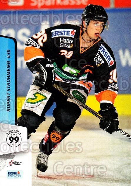 2013-14 Erste Bank Eishockey Liga EBEL #259 Rupert Strohmeier<br/>5 In Stock - $2.00 each - <a href=https://centericecollectibles.foxycart.com/cart?name=2013-14%20Erste%20Bank%20Eishockey%20Liga%20EBEL%20%23259%20Rupert%20Strohmei...&quantity_max=5&price=$2.00&code=614204 class=foxycart> Buy it now! </a>