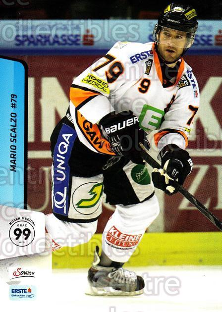 2013-14 Erste Bank Eishockey Liga EBEL #260 Mario Scalzo<br/>2 In Stock - $2.00 each - <a href=https://centericecollectibles.foxycart.com/cart?name=2013-14%20Erste%20Bank%20Eishockey%20Liga%20EBEL%20%23260%20Mario%20Scalzo...&quantity_max=2&price=$2.00&code=614205 class=foxycart> Buy it now! </a>