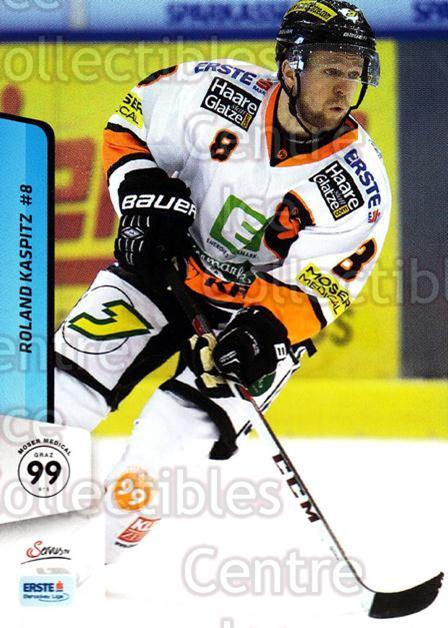 2013-14 Erste Bank Eishockey Liga EBEL #262 Roland Kaspitz<br/>5 In Stock - $2.00 each - <a href=https://centericecollectibles.foxycart.com/cart?name=2013-14%20Erste%20Bank%20Eishockey%20Liga%20EBEL%20%23262%20Roland%20Kaspitz...&quantity_max=5&price=$2.00&code=614207 class=foxycart> Buy it now! </a>