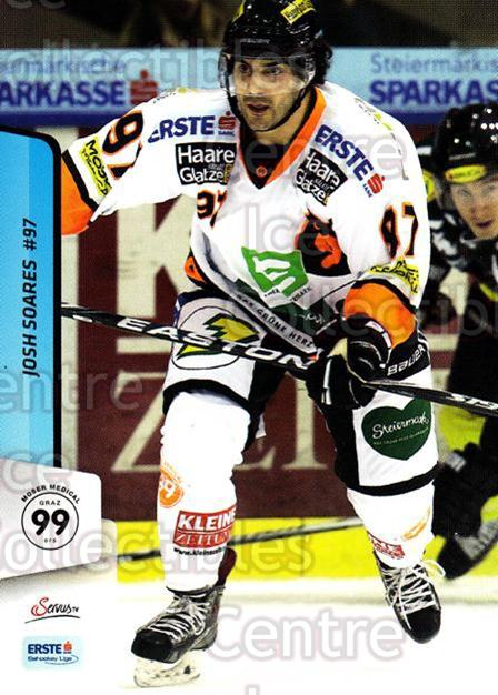 2013-14 Erste Bank Eishockey Liga EBEL #263 Josh Soares<br/>5 In Stock - $2.00 each - <a href=https://centericecollectibles.foxycart.com/cart?name=2013-14%20Erste%20Bank%20Eishockey%20Liga%20EBEL%20%23263%20Josh%20Soares...&quantity_max=5&price=$2.00&code=614208 class=foxycart> Buy it now! </a>