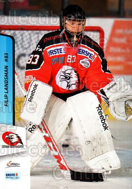 2013-14 Erste Bank Eishockey Liga EBEL #265 Filip Landsman<br/>5 In Stock - $2.00 each - <a href=https://centericecollectibles.foxycart.com/cart?name=2013-14%20Erste%20Bank%20Eishockey%20Liga%20EBEL%20%23265%20Filip%20Landsman...&quantity_max=5&price=$2.00&code=614210 class=foxycart> Buy it now! </a>