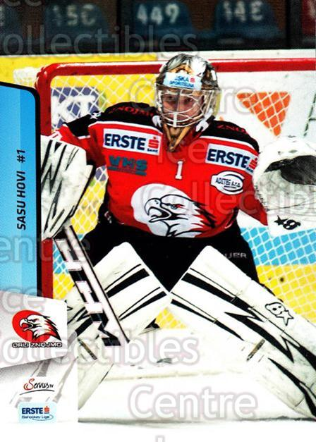 2013-14 Erste Bank Eishockey Liga EBEL #266 Sasu Hovi<br/>2 In Stock - $2.00 each - <a href=https://centericecollectibles.foxycart.com/cart?name=2013-14%20Erste%20Bank%20Eishockey%20Liga%20EBEL%20%23266%20Sasu%20Hovi...&quantity_max=2&price=$2.00&code=614211 class=foxycart> Buy it now! </a>