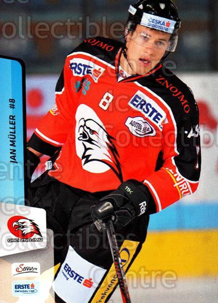 2013-14 Erste Bank Eishockey Liga EBEL #267 Jan Muller<br/>3 In Stock - $2.00 each - <a href=https://centericecollectibles.foxycart.com/cart?name=2013-14%20Erste%20Bank%20Eishockey%20Liga%20EBEL%20%23267%20Jan%20Muller...&quantity_max=3&price=$2.00&code=614212 class=foxycart> Buy it now! </a>
