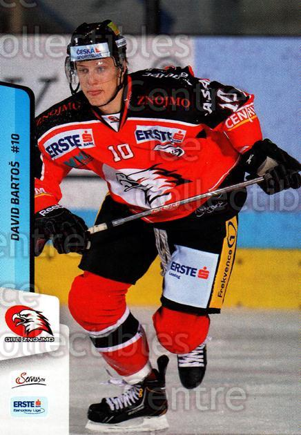 2013-14 Erste Bank Eishockey Liga EBEL #268 David Bartos<br/>5 In Stock - $2.00 each - <a href=https://centericecollectibles.foxycart.com/cart?name=2013-14%20Erste%20Bank%20Eishockey%20Liga%20EBEL%20%23268%20David%20Bartos...&quantity_max=5&price=$2.00&code=614213 class=foxycart> Buy it now! </a>