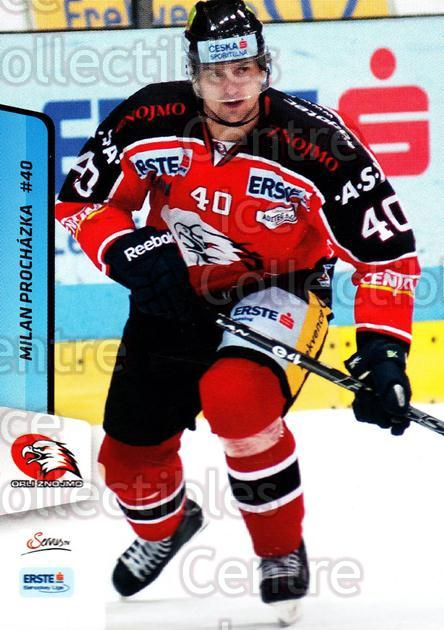 2013-14 Erste Bank Eishockey Liga EBEL #270 Milan Prochazka<br/>4 In Stock - $2.00 each - <a href=https://centericecollectibles.foxycart.com/cart?name=2013-14%20Erste%20Bank%20Eishockey%20Liga%20EBEL%20%23270%20Milan%20Prochazka...&quantity_max=4&price=$2.00&code=614215 class=foxycart> Buy it now! </a>