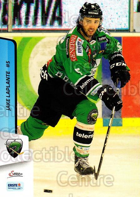 2013-14 Erste Bank Eishockey Liga EBEL #272 Jake Laplante<br/>4 In Stock - $2.00 each - <a href=https://centericecollectibles.foxycart.com/cart?name=2013-14%20Erste%20Bank%20Eishockey%20Liga%20EBEL%20%23272%20Jake%20Laplante...&quantity_max=4&price=$2.00&code=614217 class=foxycart> Buy it now! </a>
