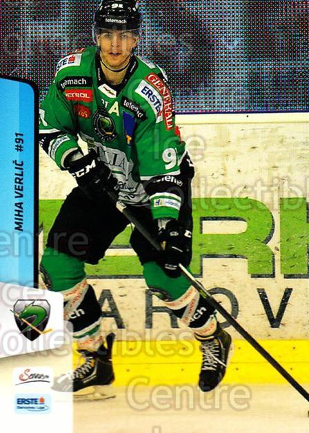 2013-14 Erste Bank Eishockey Liga EBEL #275 Miha Verlic<br/>3 In Stock - $2.00 each - <a href=https://centericecollectibles.foxycart.com/cart?name=2013-14%20Erste%20Bank%20Eishockey%20Liga%20EBEL%20%23275%20Miha%20Verlic...&quantity_max=3&price=$2.00&code=614220 class=foxycart> Buy it now! </a>