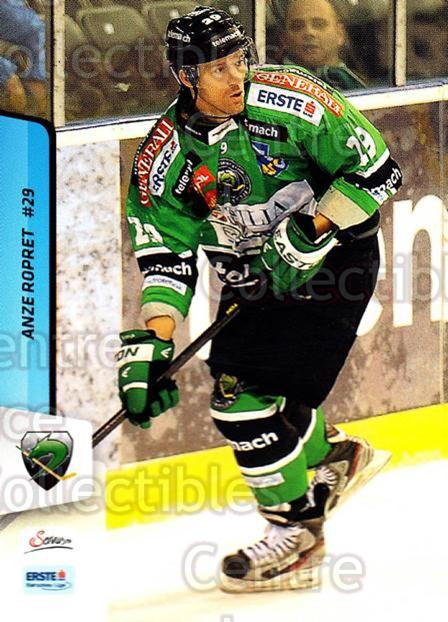 2013-14 Erste Bank Eishockey Liga EBEL #276 Anze Ropret<br/>5 In Stock - $2.00 each - <a href=https://centericecollectibles.foxycart.com/cart?name=2013-14%20Erste%20Bank%20Eishockey%20Liga%20EBEL%20%23276%20Anze%20Ropret...&quantity_max=5&price=$2.00&code=614221 class=foxycart> Buy it now! </a>